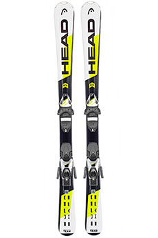 Горные лыжи Head Supershape Team Slr2 White/Yellow/Black
