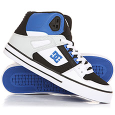 Кеды высокие DC Pure Ht Wc Black/White/Blue