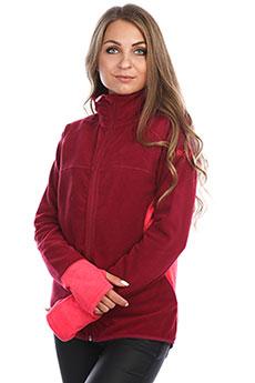 Толстовка сноубордическая женская Roxy Harmony Beet Red