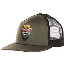 Бейсболка с сеткой Element Ea Trucker Cap Olive Drab