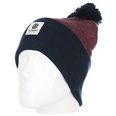 Шапка Element Dusk Pom Ii Beanie A Oxblood Heather