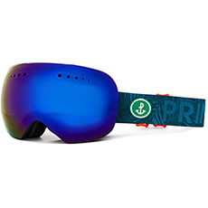 Маска для сноуборда PRIME Snowboards Aviator Bluе