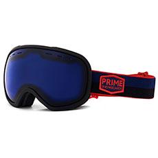 Маска для сноуборда PRIME Snowboards Aviator Silver Blue