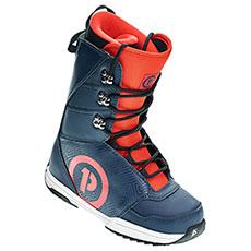 Ботинки для сноуборда женские PRIME Snowboards Daily Blue Red