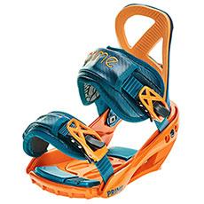 Крепления для сноуборда PRIME Snowboards Lets Go Orange Blue