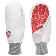 Варежки сноубордические Bonus Gloves You White