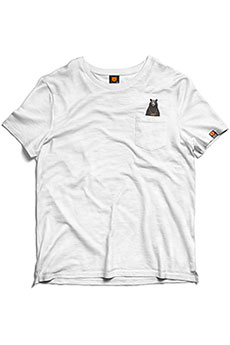 Футболка Terror Snow T-shirt Pocket White
