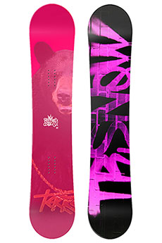 Сноуборд Terror Snow Spray Pink Black