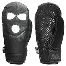 Варежки сноубордические Bonus Gloves F*ck Judges Black