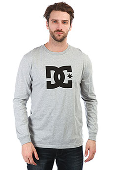 Лонгслив DC Star Ls Grey Heather