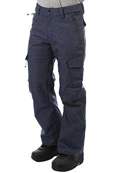 Штаны сноубордические QUIKSILVER Porter Denim Dress Blues
