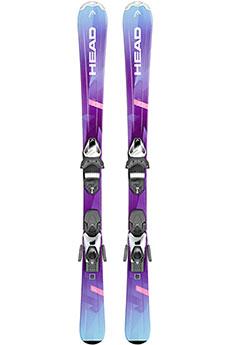 Горные лыжи Head Joy Slr 2 (117-147) + Slr 7.5 Ac Brake 78 147 Purple/Turquoise