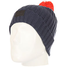 Шапка Rip Curl Pompom Jr Beanie Dress Blue