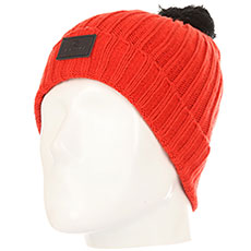 Шапка Rip Curl Pompom Beanie Aurora Red