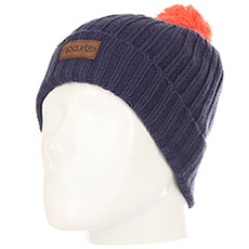 Шапка Rip Curl Pompom Jr Beanie Patriot Blue