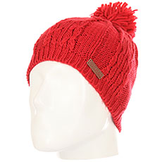 Шапка Rip Curl Plaity Beanie Red Orchid