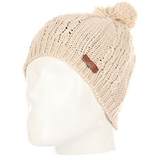 Шапка Rip Curl Plaity Beanie Crystal Gray