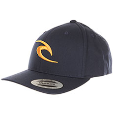 Бейсболка с прямым козырьком Rip Curl Rc Iconic Snapback Cap Mood Indigo