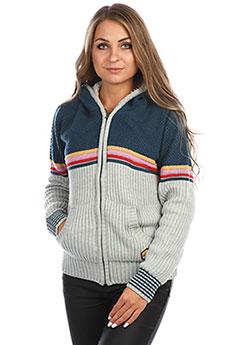 Толстовка утепленная женская Rip Curl Sunrise Zip Thru Lined Sweater Cement Marle