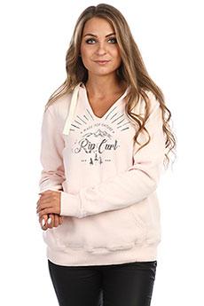 Толстовка кенгуру женская Rip Curl Nature Hooded Fleece Crystal Pink