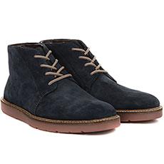 Ботинки Clarks Grandin Mid Синие