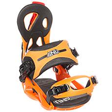 Крепления для сноуборда GNU Cheeter Orange