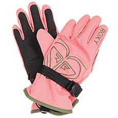 Перчатки сноубордические женские Roxy Poppy Girl Glov Shell Pink