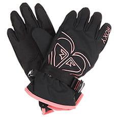 Перчатки сноубордические женские Roxy Poppy Girl Glov True Black