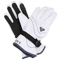 Перчатки сноубордические женские Roxy Jetty Soli Glov Bright White