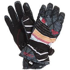 Перчатки сноубордические женские Roxy Jetty Se Gloves True Black pop Snow