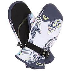 Варежки сноубордические женские Roxy Jetty Mitt Bright White freespa