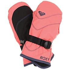 Варежки сноубордические детские Roxy Jett Sol Gi Shell Pink
