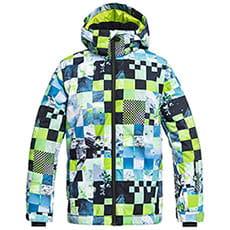 Куртка утепленная детская QUIKSILVER Miss Pr Lime Green_money Tim