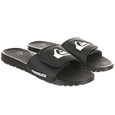 Шлепанцы Quiksilver Shoreline Adjus Black/White