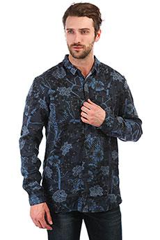 Рубашка QUIKSILVER Silentfuryls Blue Nights Silent