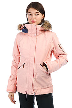 Куртка утепленная женская Roxy Meade Coral Cloud