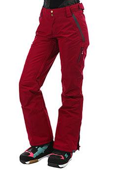 Штаны сноубордические женские Roxy Rushmore Beet Red