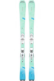 Горные лыжи Head Pure Joy Slr + Slr 9.0 Brake 85 White/Turquoise