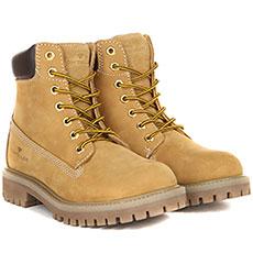 Ботинки женские Tom Tailor Shoes Collection 5899601 Песочные