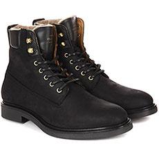 Ботинки высокие женские Gant Ashley черные