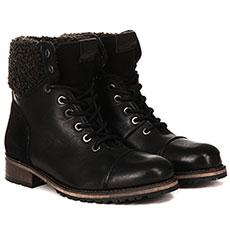 Ботинки женские Pepe Jeans London Melting Warm Черные