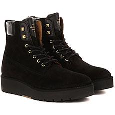 Ботинки женские Gant Casey Черные