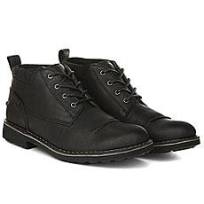 Ботинки зимние Clarks Lawes Top Black