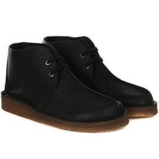 Ботинки Clarks Deserttrek Hi Черные
