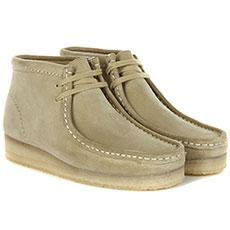 Ботинки женские Clarks Wallabee Boot Песочные