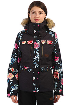 Куртка утепленная женская Rip Curl Chic Ptd Red Orchid