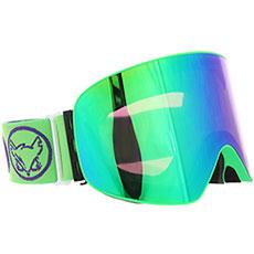 Маска для сноуборда Vizzo Affect Green Mirror Green Frame
