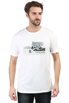 Футболка Rip Curl Wagon Optical White