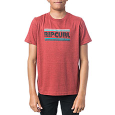 Футболка Rip Curl Big Mama Stripe Baked Apple Marle