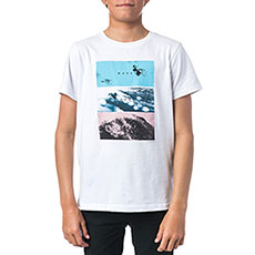 Футболка детская Rip Curl Good Boy Optical White